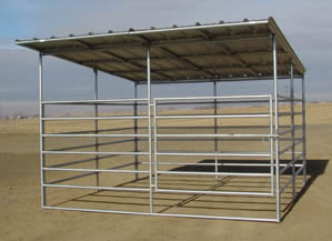 Horse Panel Shelters Protect Horses In All Seasons