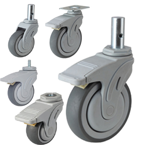 Hospital Bed Caster Wheels Stretcher