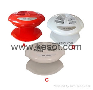 Hot And Cold Wind Nail Polish Dryer With 400w Fan System Ks Nd003