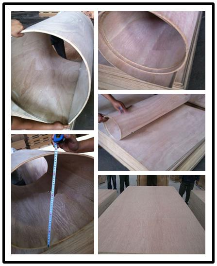 Hot Commercial Plywood Flexible Bending