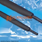 Hot Melt Adhesive Dual Wall Flexible Heat Shrink Tubing For Ams