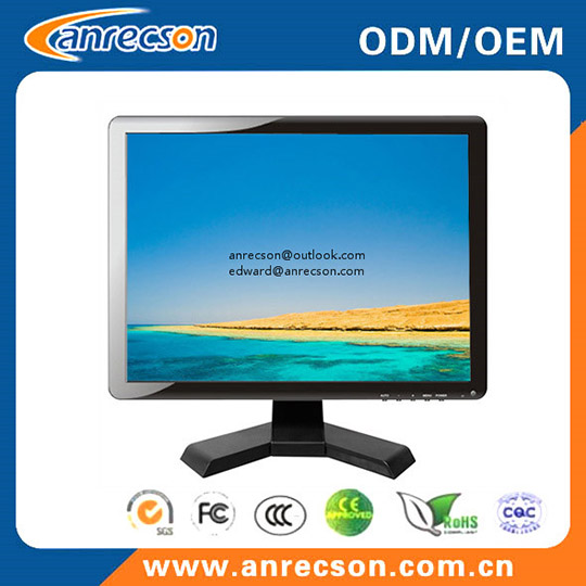 Hot Sale 17 Inch Security Surveillance Lcd Cctv Monitor