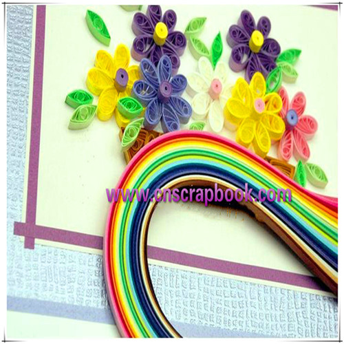 Hot Sale 3mm Paper Quilling In Bangalore With Various Colors