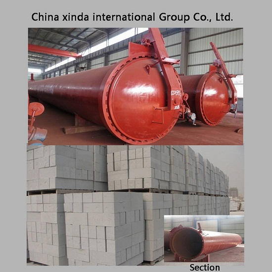 Hot Sale Aac Autoclaved Aerated Concrete For Building Construction