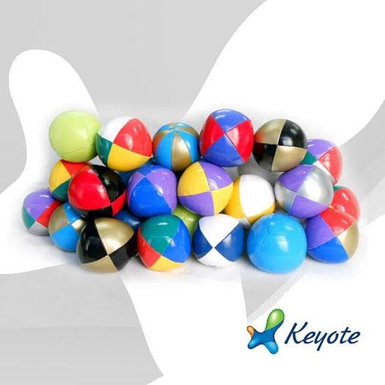 Hot Sale Multicolor 6 8cm Juggling Ball