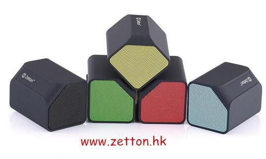 Hot Sale Zetton Mini Wireless Bluetooth Speaker Prism With Good Sound Effect