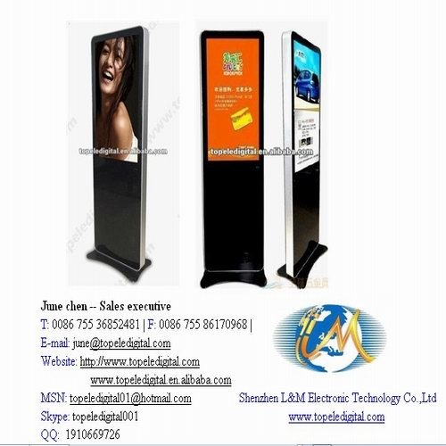 Hot Sell 42 Inch Lcd Monitor All In One Pc Advertising Display Shopping Mall Kiosk Hotel