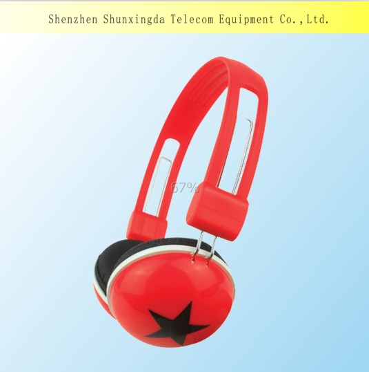 Hot Selling Colorful Headphone Headsets With Cheap Price