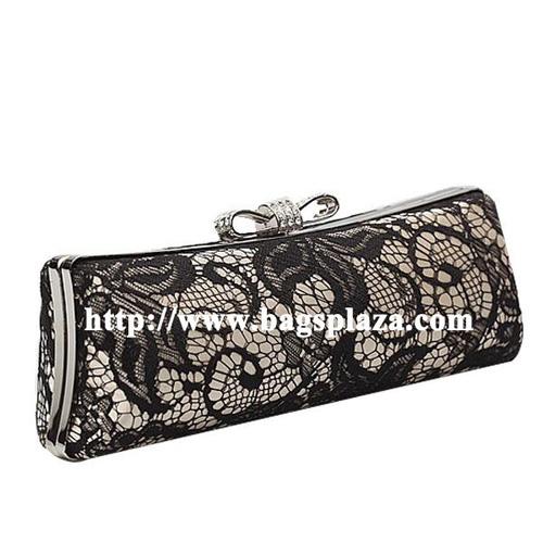 Hot Selling Lady Lace Evening Bag Clutch Handbag Ev1087