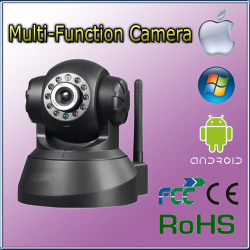Hot Selling Wi Fi Pan Tilt With Dual Audio Ip Network Camera