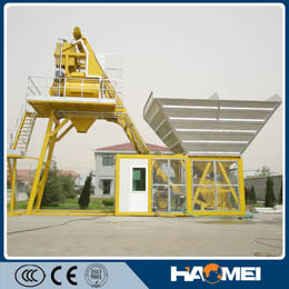 Hot Selling Yhzs35 Mobile Concrete Batching Plant
