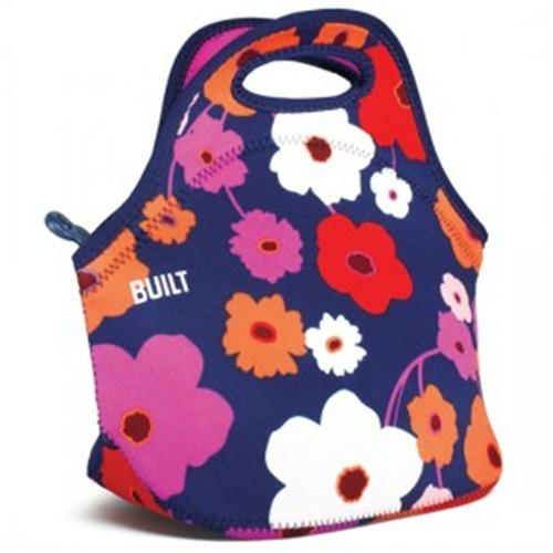 Hot Selling Zippered Flower Lady Lunch Bag Neoprene
