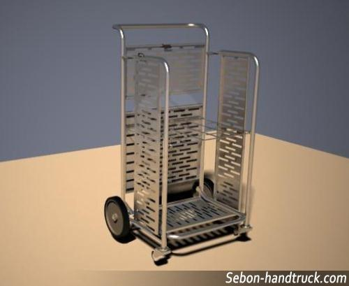 Hotel Series Stainless Steel Handcart Folding Rcs R014