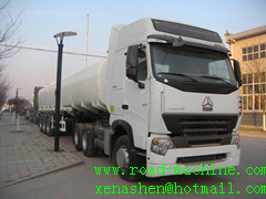 Howo A7 6x4 Oil Tanker Truck 25000l