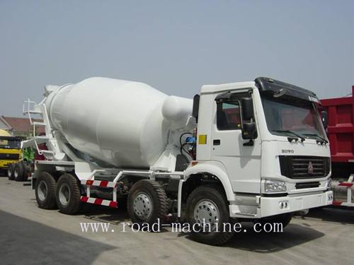 Howo Chassis 10cbm Concrete Mixer Truck 8x4