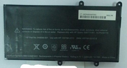 Hp Touchpad Go Battery 648568 001 Dr Hpad1