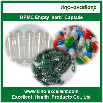 Hpmc Empty Hard Capsule 00 0 1 2 3 4
