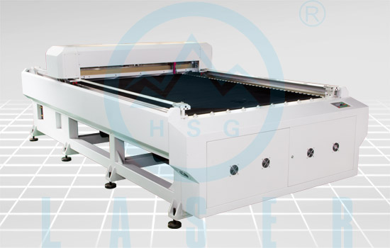 Hs B1325 Acrylic Laser Cutting Bed For Advertising And Craft Industries