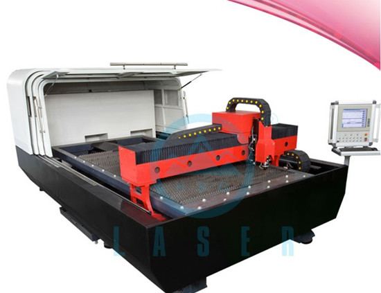 Hs M3015a Sheet Metal Laser Cutting Machine Used American Head