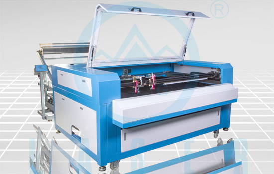 Hs R1610 Auto Feeding Laser Cutting Engraving Machine For Garment And Leather Industries