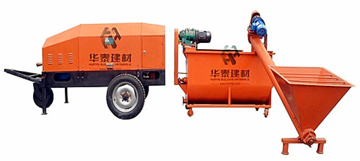 Huatai Foam Concrete Manufacturing Machine Ht 80