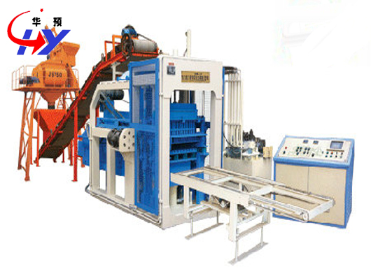 Hy Qm4 12 Concrete Brick Making Machine