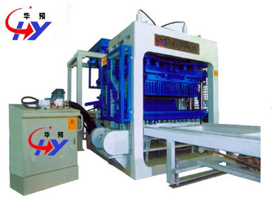 Hy Qt10 15 Brick Making Machine