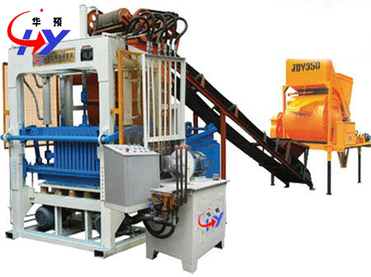 Hy Qt4 25 Manual Brick Making Machine