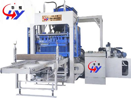 Hy Qt6 15 Hollow Block Machine For Sale