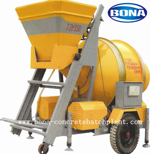 Hybrid Power Concrete Mixer Jzh350 Cement Machine Nigeria Price
