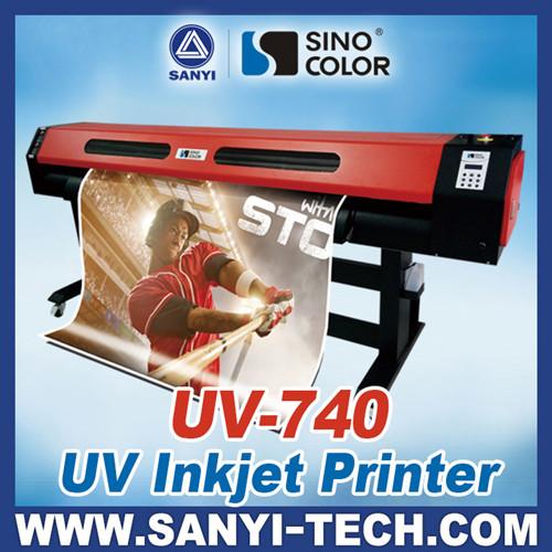 Hybrid Uv Led Printer 740 Roller Flatbed Available