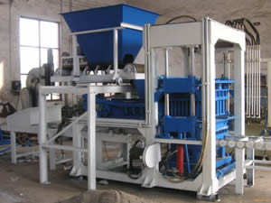 Hydraulic Brick Making Machine Specification