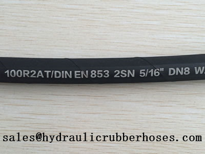 Hydraulic Hose With High Working Pressure And Solid Structure