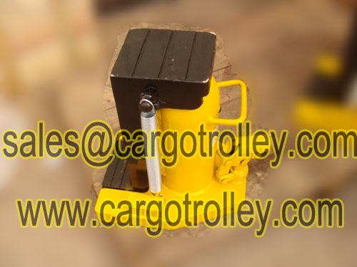 Hydraulic Jacks With Handler