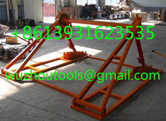Hydraulic Lifting Jacks For Cable Drums Jack Towers Mechanical Drum