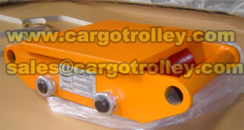 Hydraulic Toe Jack Applied With Moving Roller Skate