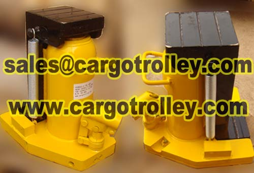 Hydraulic Toe Jack Capacity From 2 5 Tons To 100