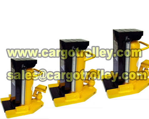 Hydraulic Toe Jack Pictures
