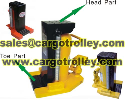 Hydraulic Toe Jack Structure Is Compact And Simple