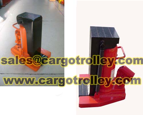 Hydraulic Toe Jacks Operate By Manpower