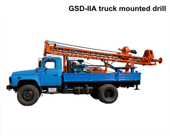 Hydraulic Truck Mounted Water Well Drilling Machine With Ce Iso