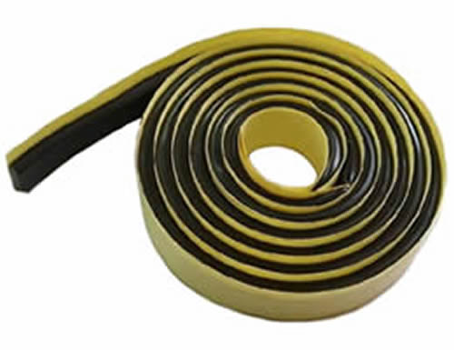 Hydrophilic Butyl Rubber Waterstop For Non Moving Joint