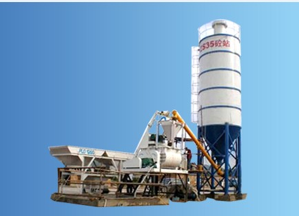 Hzs35 Model Concrete Mixing Station