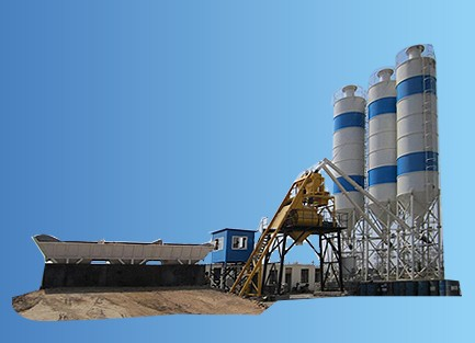 Hzs50 Concrete Mixing Station