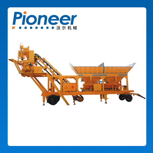 Hzsy35 Henan Hot Selling Wet Ready Mixed Concrete Batching Plant