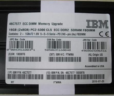 Ibm Server Memory 46c7577