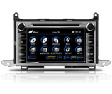 In Dash Car Audio Gps Navigation System For Toyota Venza