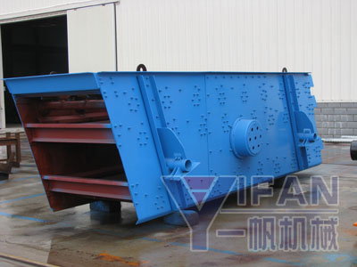 Inclined Vibrating Screen For Sale