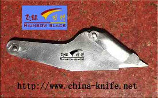 Include Circular Blade Sharp Angle Food Cutting Abnormal Machinery Scraper Triangular