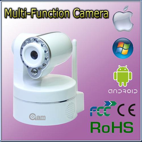 Indoor Mini H 264 Ptz Hd Ir Ip Network Camera Sd Card 32g